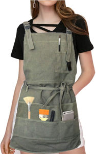Adjustable Artist Apron with Pockets