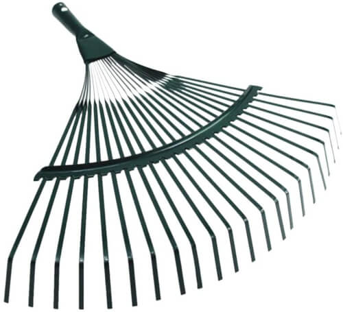 Yardwe Leaf Rake Shrub Rake Garden Leaf Clean Up Tools