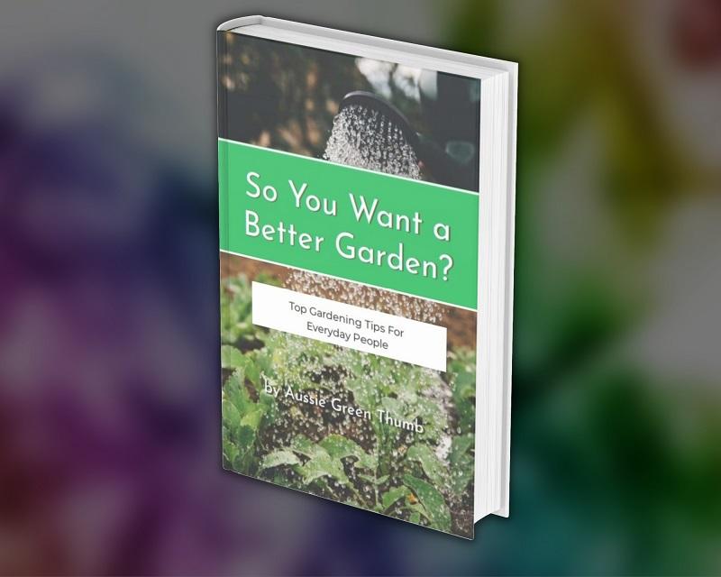 Aussie Green Thumb Gardening e-book bundle - So you want a better garden