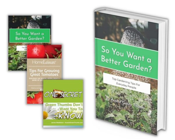 Aussie Green Thumb gardening e-book bundle pack