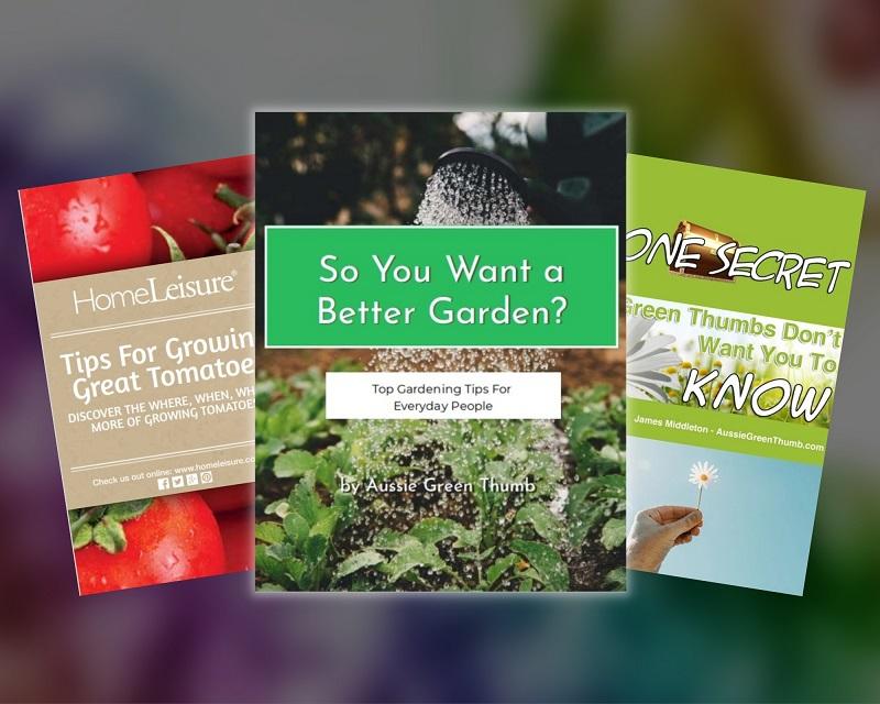 So you want a better garden - gardening e-book bundle by Aussie Green Thumb