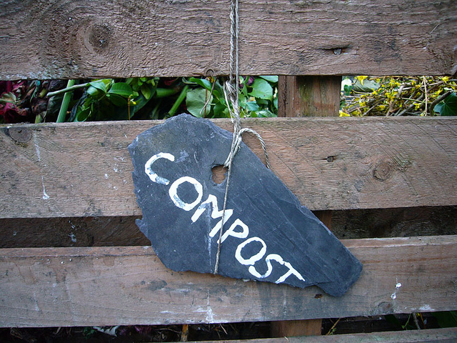 Compost is a sustainable way to feed your garden