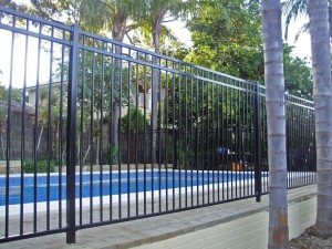 Pool Fencing Double Rail