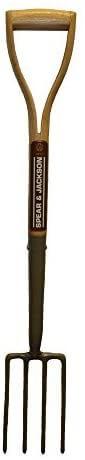 Spear & Jackson 1550HR Heritage 28 inch Forged Border Fork, 32 inch