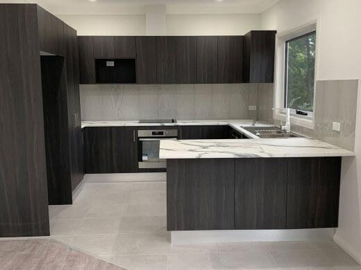 Flat Builder Kitchen Design