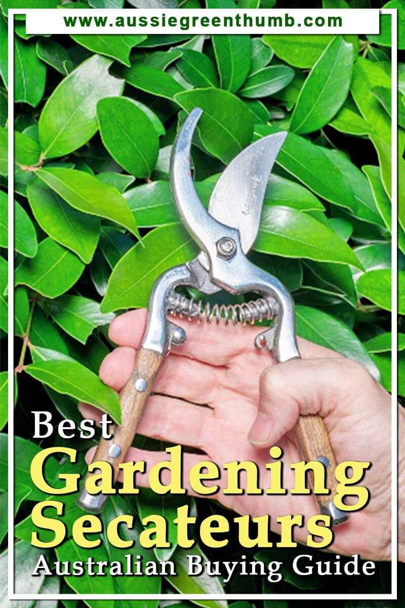 Best Gardening Secateurs Australian Buying Guide