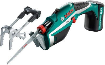 Bosch 600861940 Cordless Garden Pruning Saw is reviewed as one of the leading garden tools