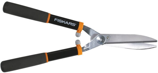 Fiskars 391911-1002 Power Lever 8-Inch Hedge Shears