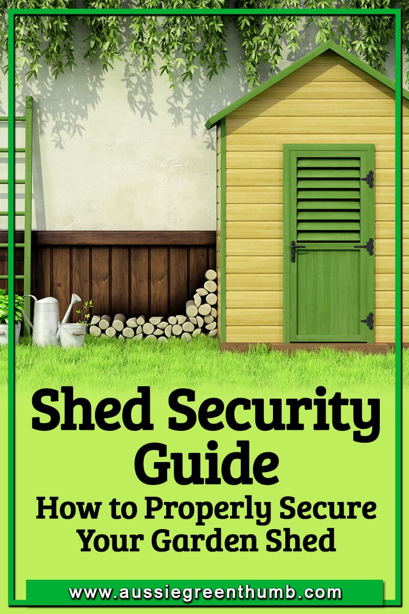 Shed Security Guide How to Properly Secure Your Garden Shed