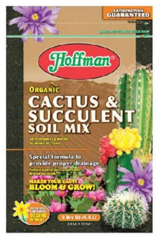 Hoffman Organic Cactus and Succulent Soil Mix