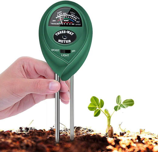 Tersely 3-in-1 Plant Soil Tester Kit