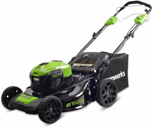 Greenworks 21-Inch Lawn Mower