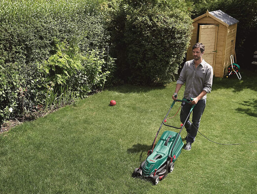 Pros of corded electric lawn mowers