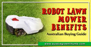Robot Lawn Mower Benefits Australian Buying Guide