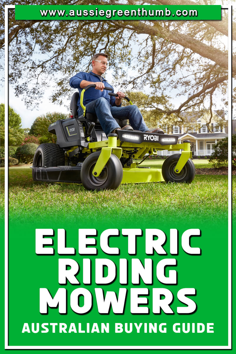 Best Electric Riding Mowers Australian Buying Guide