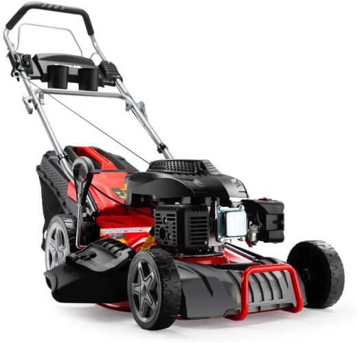 Baumr-AG 780SX 4-Stroke 4in1 Petrol Steel Deck Lawnmower
