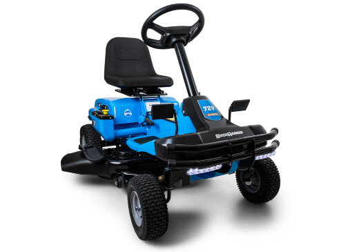 BushRanger 72V Battery-Powered Ride On Mower