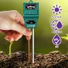 Fosmon Soil, Light, PH and Moisture Tester