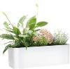 Gardenbasix Rectangle Self Watering Planter