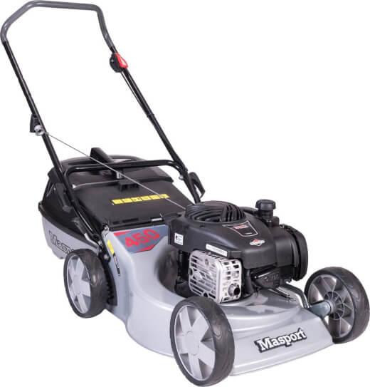 Masport 450ST S18 2n1, Cut, Catch & Mulch Petrol Lawn Mower
