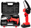 Mini Chainsaw, 4-Inch Cordless Electric Protable Chainsaw