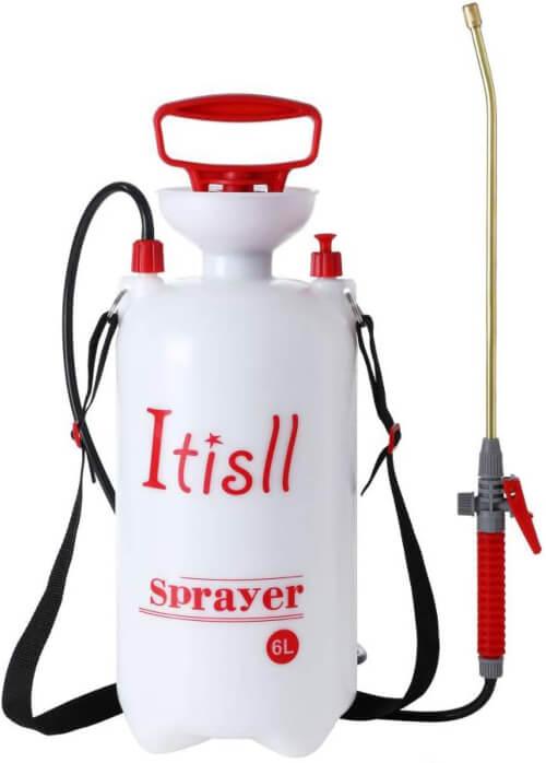 ITISLL Portable Garden Pump Sprayer