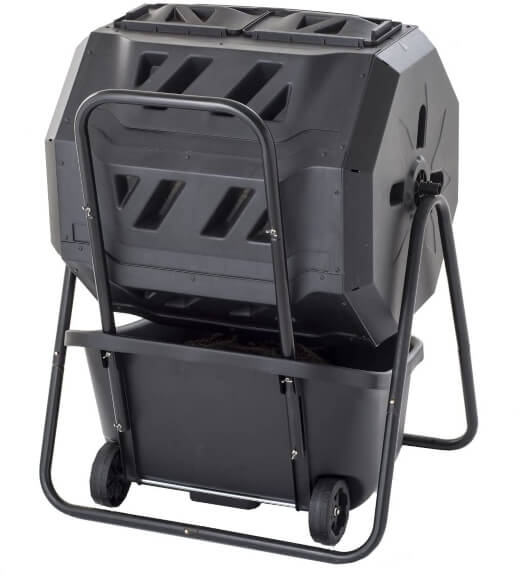 Maze 160lt ROTO Twin Composter with Cart