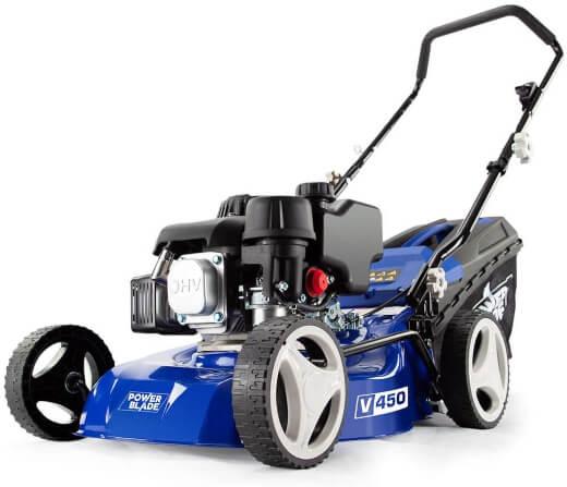 PowerBlade V450 139cc 4-Stroke Petrol Lawn Mower