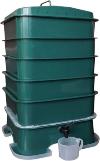VermiHut Worm Compost Bin Plus 5-Tray