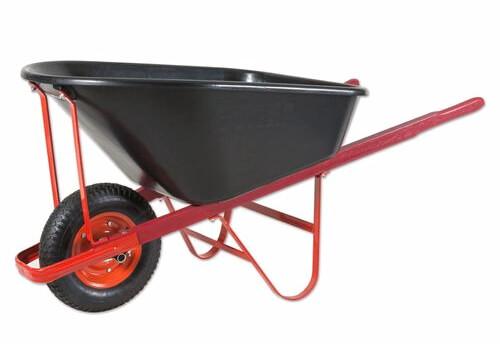 Daytek 120L Poly Tradesman Wheelbarrow