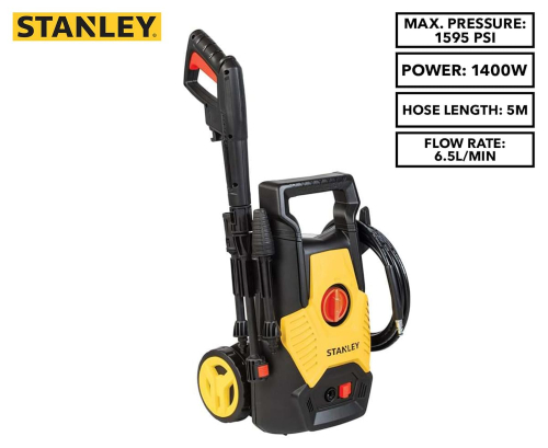 STANLEY 1600W 1740 PSI Electric Pressure Washer