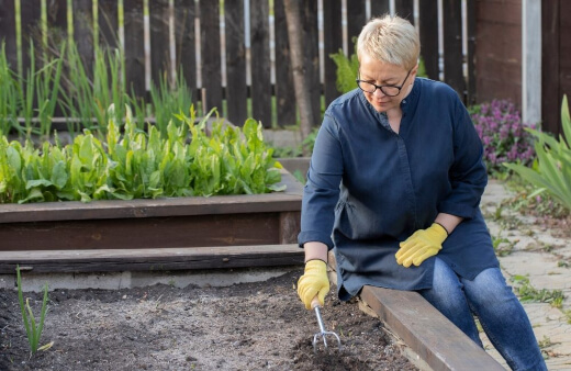 Adding the soil is the real bones of your raised garden bed