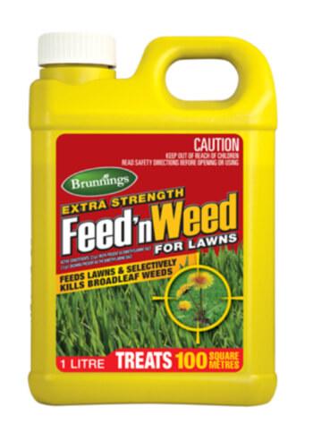 Brunnings Extra Strength Feed 'n Weed