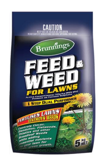 Brunnings Feed & Weed Granular