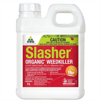 Eco-Organic Garden 1L Slasher Weed killer Concentrate