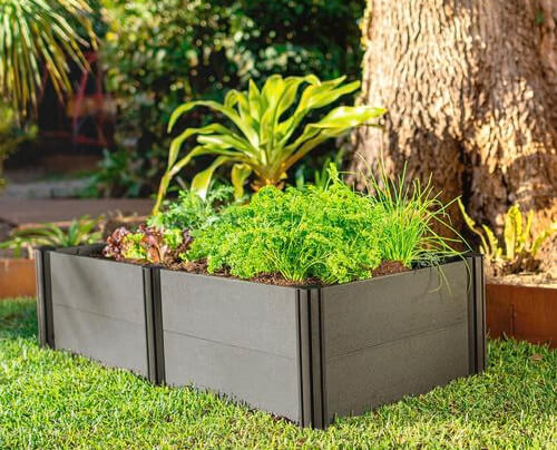 Holman 1200 x 600 x 300mm Modular Raised Garden Bed is a great addition for anyone with limited space or just starting ou