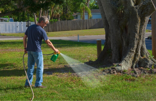 How to Apply Weed Killer