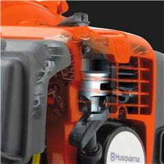 Husqvarna 535RXT Petrol Powered Brush Cutter is built for constant, challenging work, and is ideally suited to commercial applications