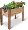 Jumbl Raised Cedar Garden Bed