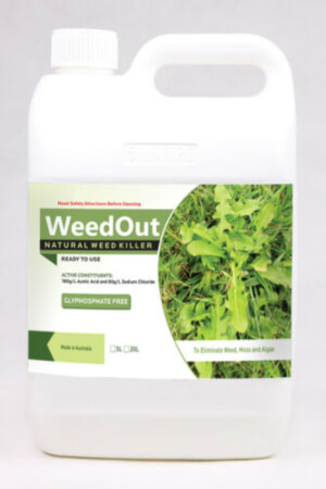 NEW Weedout - No Glyphosate, Natural Organic WeedKiller