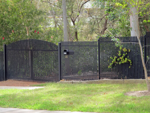 Picket fencing is a practical choice when you opt for prefabricated steel picket fencing