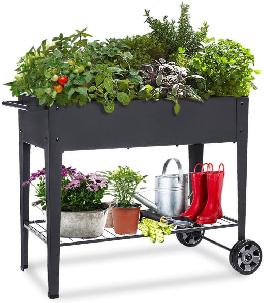 Raised Planter Box with Legs