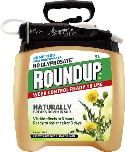 Roundup Naturals Glyphosate-Free Powerful Weed Killer