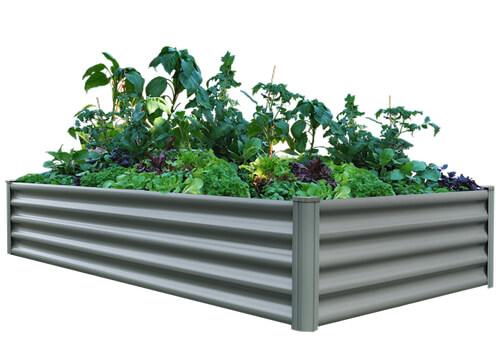 The Organic Garden Co Raised Rectangle Garden Bed