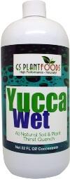 Yucca Organic Soil Wetting Agent