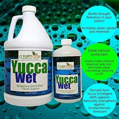 Yucca Organic Wetting Agent and Surfactant 2
