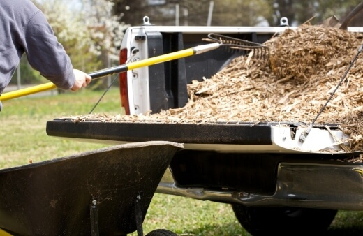 Creating mulch is part of sustainable gardening