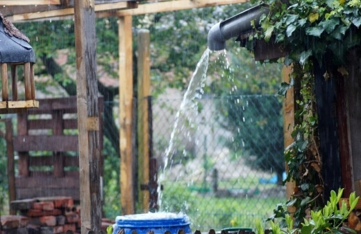 Establishment of a rainwater harvesting system is the third of the many ways to reduce the consumption of natural resources while providing water for garden use