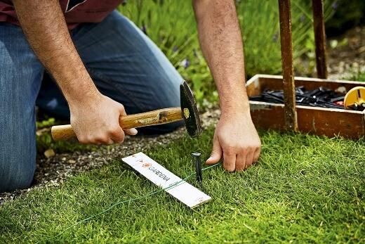 How do I install a robotic lawnmower
