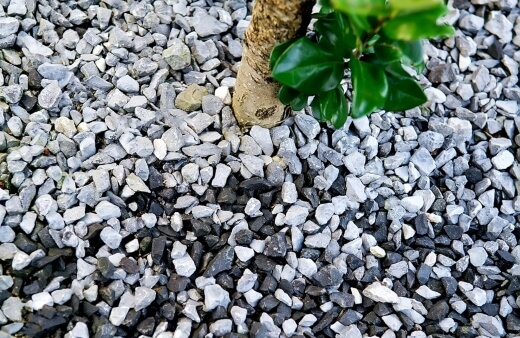 Inorganic mulch are products that are designed for long term coverage of an area, and will not break down over time